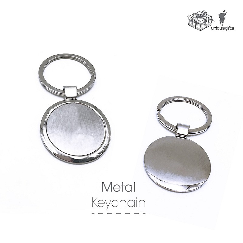 Stock Metal Keychain