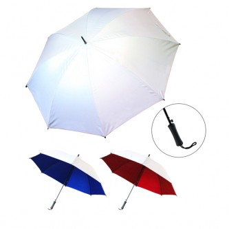 "UML0173942A 27"" Auto Silver Coated Umbrella"