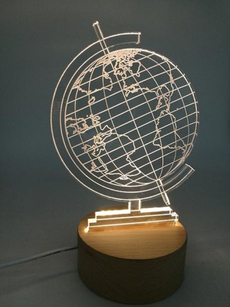 EG17001 2D Globe Led Light