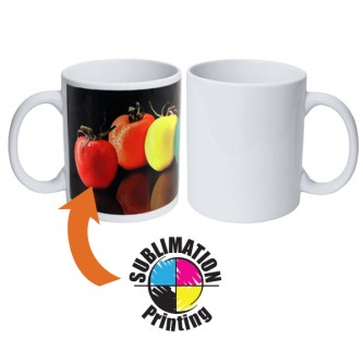 HHMG00001 / DR01 Sublimation White Ceramic Mug