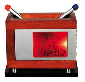 JY7013 Wood Desktop Clock