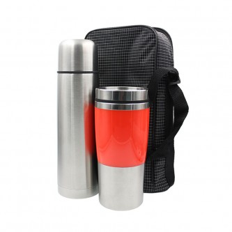 HH01717 Travelling Thermo Flask Set