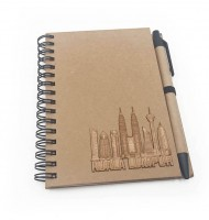 NB00104WD / NB02 KLCC Eco Notebook With Sticky Note