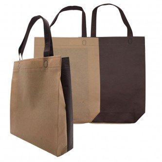 NW0174348N Custom 2-Tone Ultrasonic Non Woven Bag