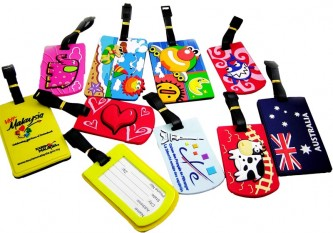 PVC Rubber Luggage Tag