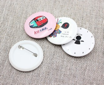 BB100318 45mm Button Badges Gloss Lamination