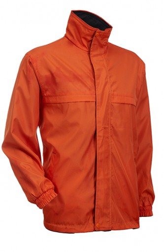 Reversible Jacket (Orange/Black)