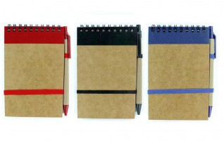 NB00105 / NB01 Eco Notebook With Pen