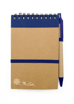 NB00105(W) / NB01(W) Eco Embelishment Notebook With Pen