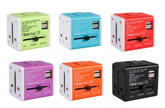 TR00004 / TA08  1000mA Universal Travel Adapter