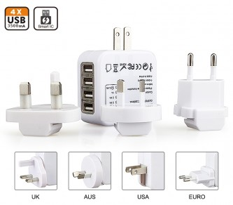 TR001400 / TA06  3500mA Universal Travel Adapter