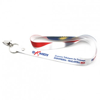 SSL01 20mm Polyester Heat Transfer Lanyard  1 Side