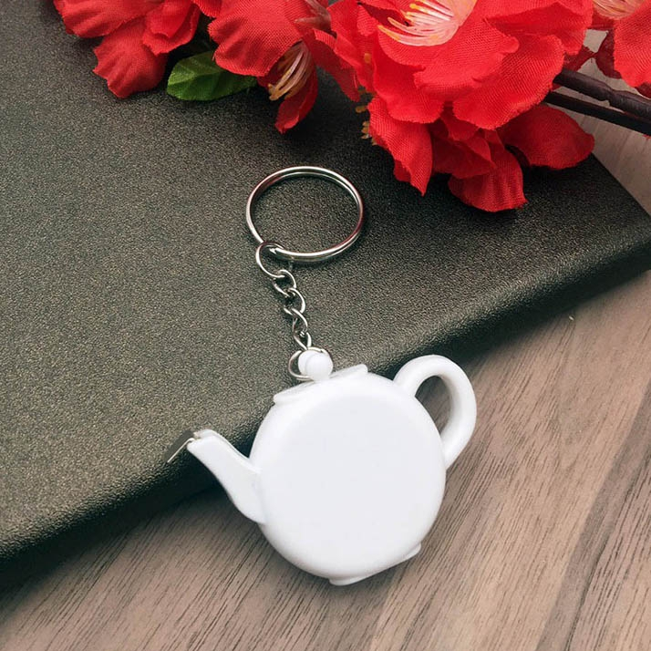 Teapot Measuring Tape Keychain 1