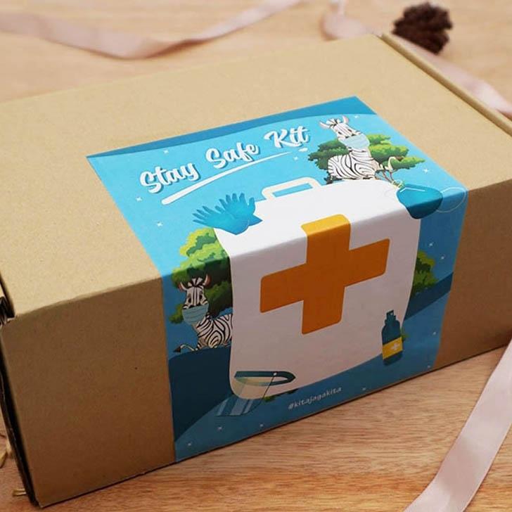 Personal Protect Kit Box Set A - Sticker