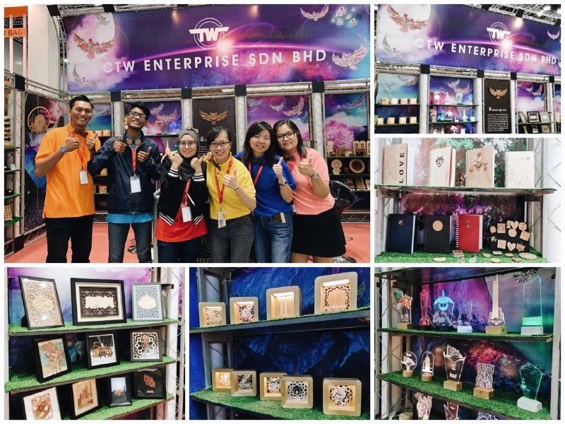 Wooden Gifts Ideas at Malaysia Gift Fair 2019