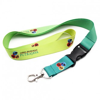 20mm Polyester Heat Transfer Lanyard 2 Side