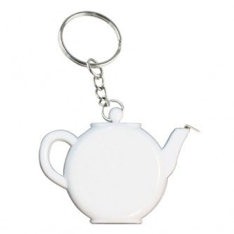KCJIT02 Teapot Tape Measure Keychain