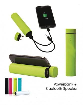 CGS000800NE Bluetooth Speaker + Power Bank
