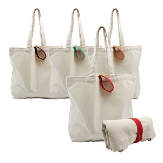 BG204735 Foldable Canvas Bag 38cm(H) x 44cm(W) x 11cm(G)