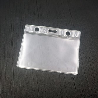 Soft PVC ID Card Holder - 9cm x 7cm