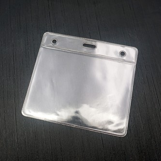 Soft PVC ID Card Holder - 11cm x 10cm