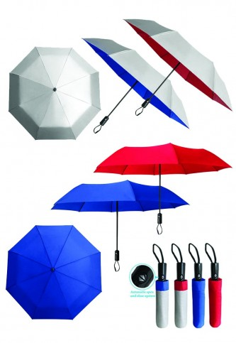 "UML900142 21"" 3 FOLD AUTO OPEN UMBRELLA"