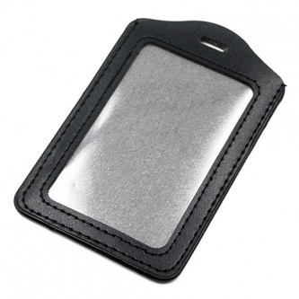 PVC Leather ID Card Holder