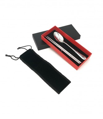 Stainless Steel 2pcs Cutlery Gift Set