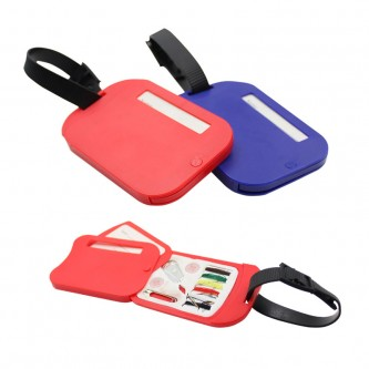 SS03422 Luggage Tag With Sewing Kit