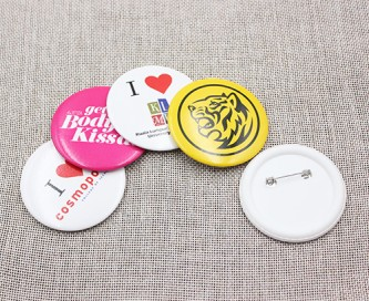 BB100618 58mm Button Badges Gloss Lamination
