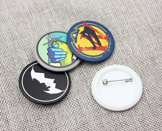 BB100318 45mm Button Badges Matt Lamination