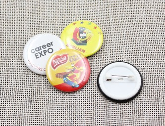BB100118 30mm Button Badges Gloss Lamination