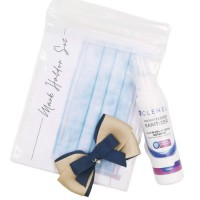Sanitizer Spray Personal Protection Set (Bow)