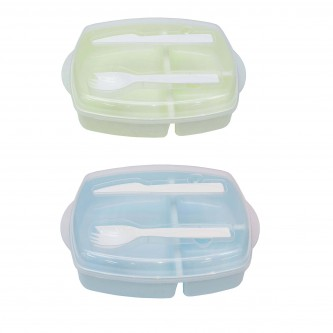 FC174939 Fina Food Containers with Fork & Knife