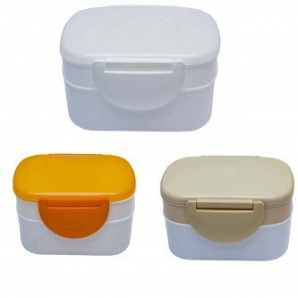 FC174039 Milly 2 Tier Food Containers
