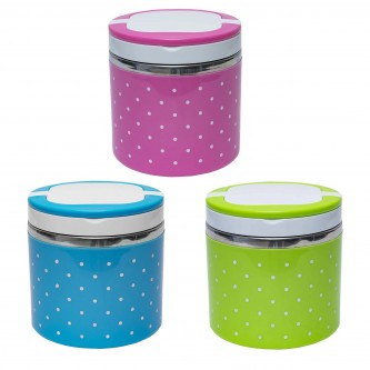 FC174539 Mazie Stainless Steel Food Containers