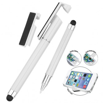WIP018322BP / PG09 i-Hermes 4 in 1 Multifunction Touch Screen Plastic Pen