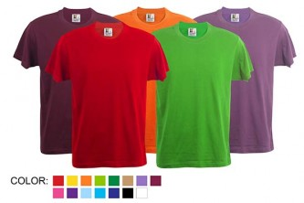 GML9001 Foursquare 160gm Round Neck Shirts