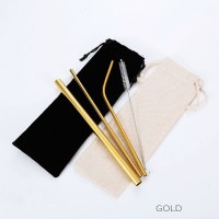 Pre-order Gold Metal Straw HH181202-GL